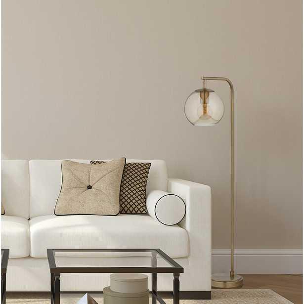 """Hingham 58.5"""" Arched Floor Lamp - Wayfair"""