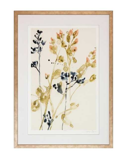 WATERCOLOR BUDS 1 Framed Art - McGee & Co.