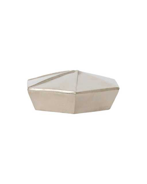 FOLDED NICKEL BOX - McGee & Co.