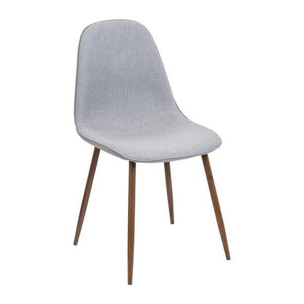 Laurens Mid-Century Modern Upholstered Side Chair (Set of 2) - Wayfair