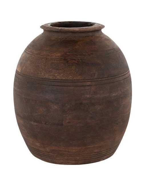 Aged Wood Vase - McGee & Co.