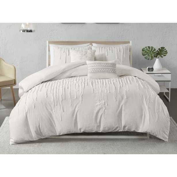 Keysville Duvet Cover Set (Duvet Cover  + 2 Shams + 2 Throw Pillows) - Wayfair