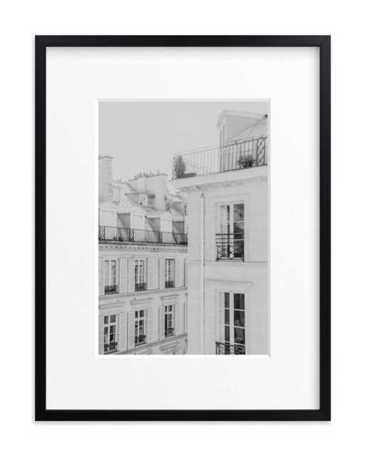 Parisian Rooftops - Minted
