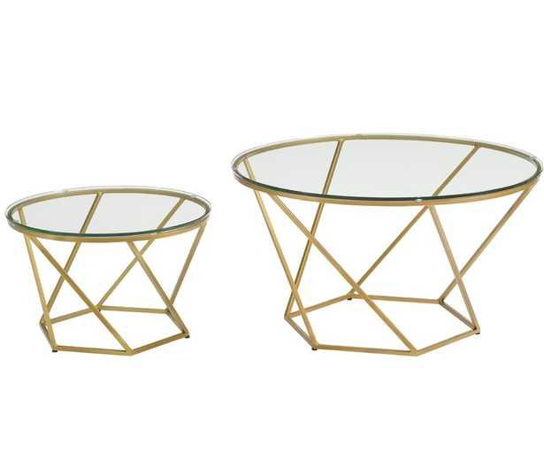 Adrianna 2 Piece Coffee Table Set - AllModern