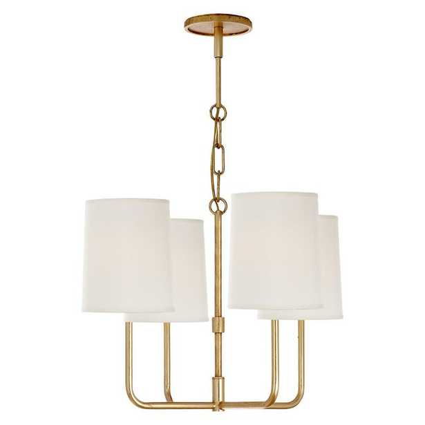 GO LIGHTLY SMALL CHANDELIER - GILD - McGee & Co.
