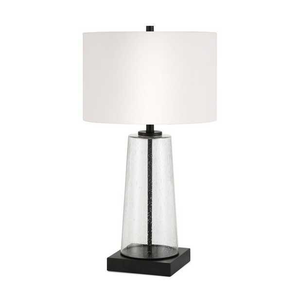 """Cohen 28"""" Bedside Table Lamp in Black - Birch Lane"""