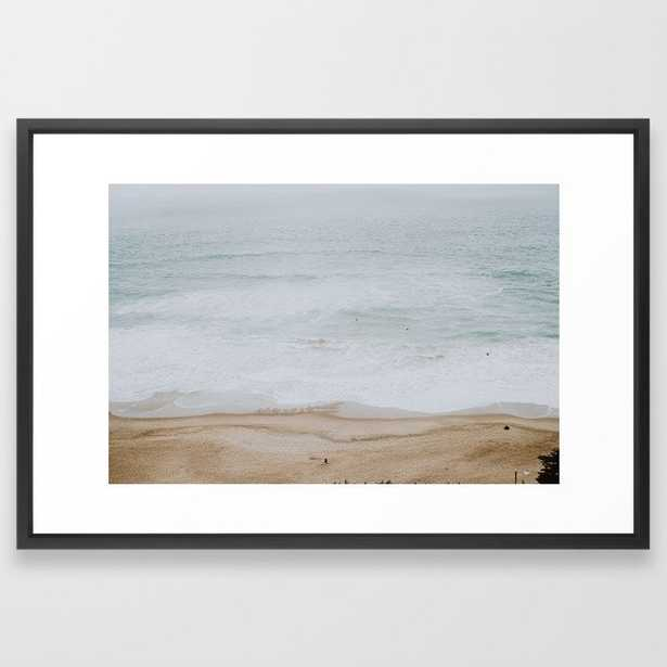 seashore iiI Framed Art Print - Society6
