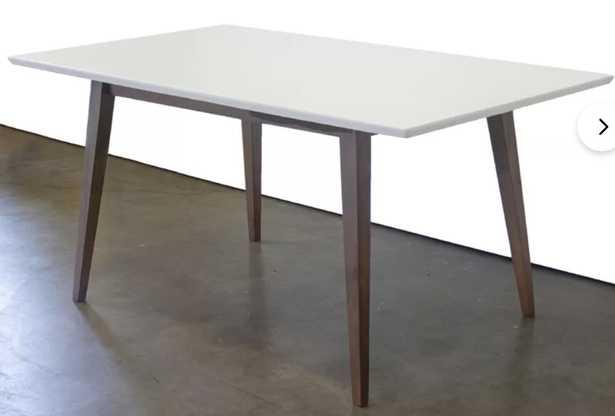 Lewin Solid Wood Dining Table - Wayfair