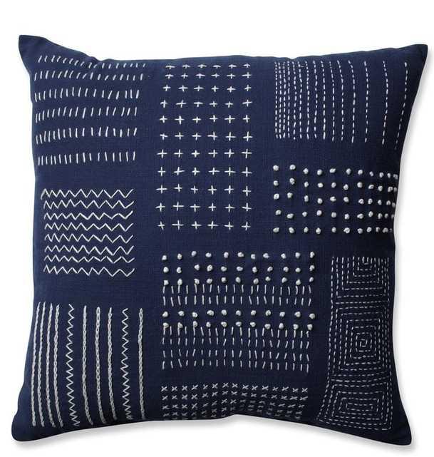Tribal Cotton Throw Pillow - Wayfair