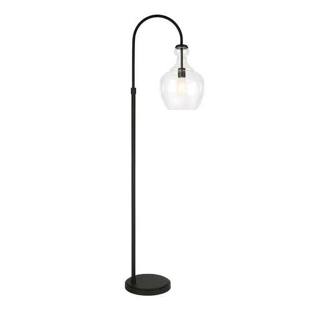 """Dayna 70"""" Arched/Arc Floor Lamp - Wayfair"""