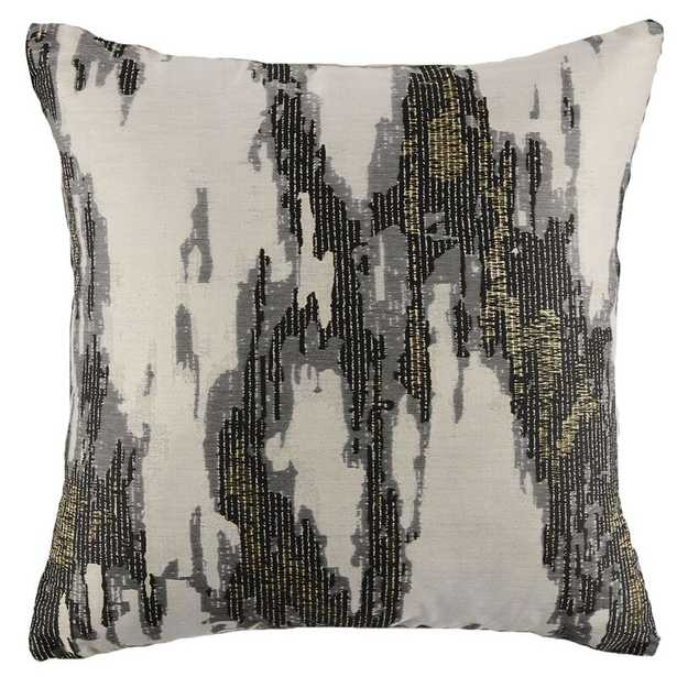 Emdee Square Pillow Cover and Insert - Onyx - Perigold