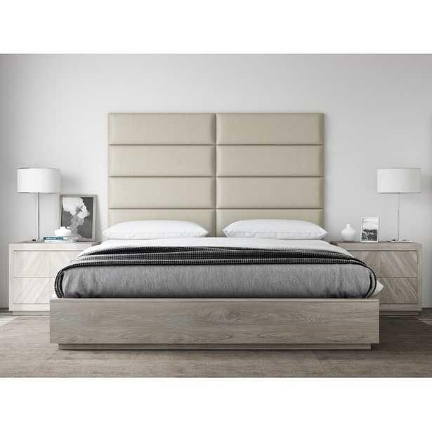 King/Twin Bernardsville Upholstered Panel Headboard (Set of 4) - Wayfair