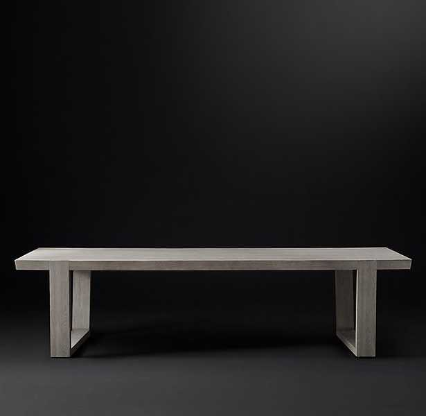 ANTOCCINO RECTANGULAR DINING TABLE - RH