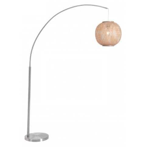 Halzey Floor Lamp Natural - Zuri Studios