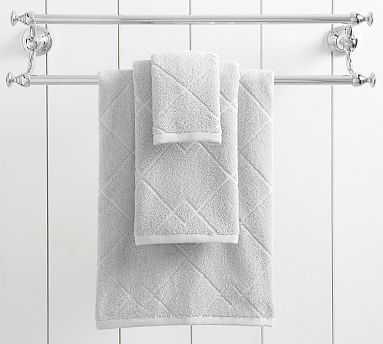 APT Easy Care Towel, Bath, Gray Mist - Pottery Barn