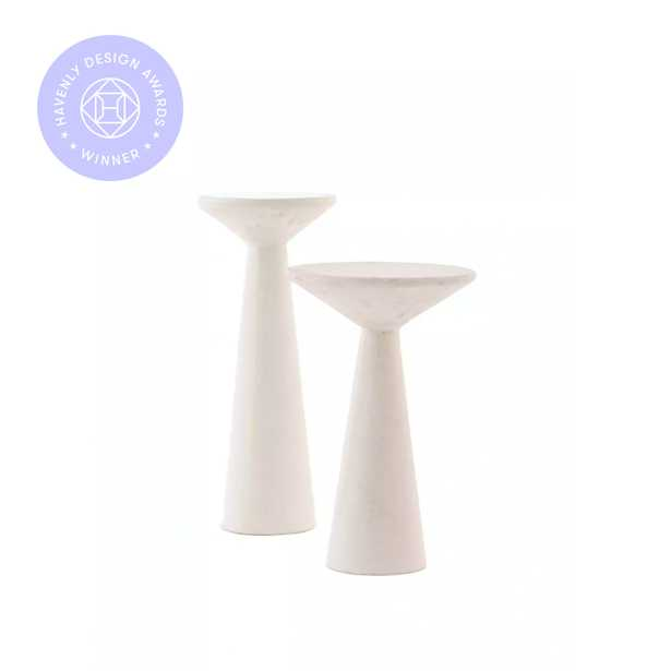 Raven Side Tables, Set of 2 RESTOCK IN AUGUST,2021. - Lulu and Georgia