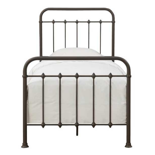 Alioth Standard Bed - Oil Rubbed Bronze - Twin - Birch Lane