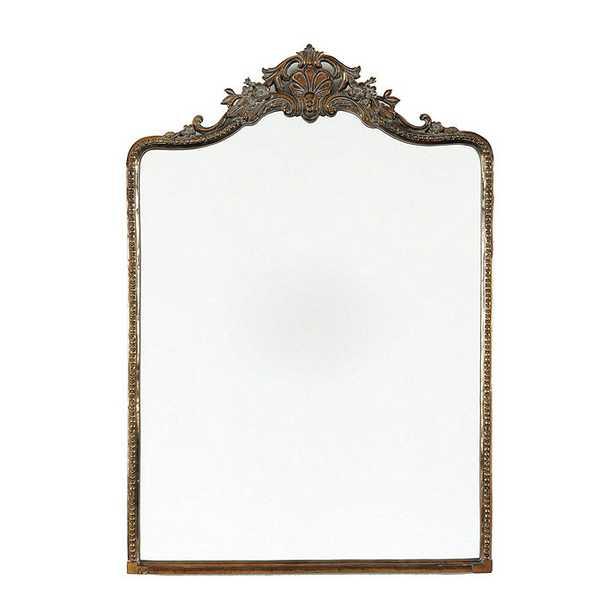 "Beaudry Mirror - Antique Brass - 64"" x 31"" - Ballard Designs"