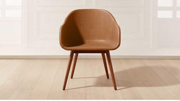 Venice Studio Brown Task-Office Chair - CB2