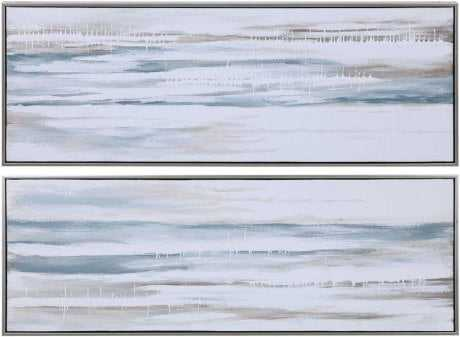 DRIFTING HAND PAINTED CANVASES, S/2 - Hudsonhill Foundry