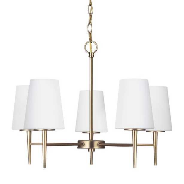 Demitri 5-Light Sputnik Sphere Chandelier- satin bronze - Wayfair