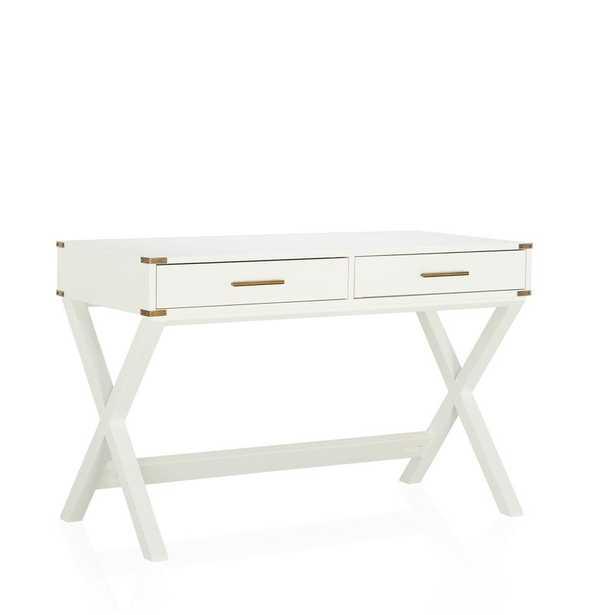 Merrick Rectangular Desk - Wayfair