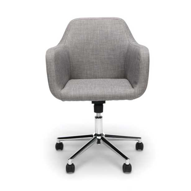 Rothenberg Upholstered Home Office Chair - GRAY - Wayfair