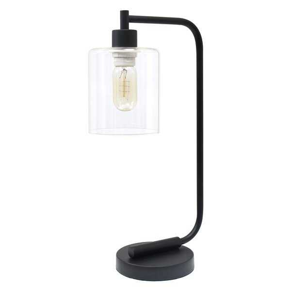 "Keystone 19"" Desk Lamp // Matte Black - AllModern"