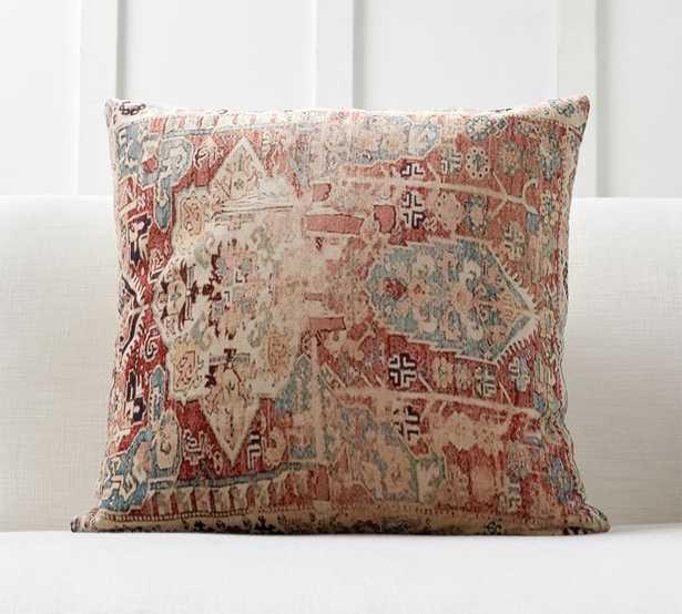 Basilia Print Pillow Cover - Pottery Barn