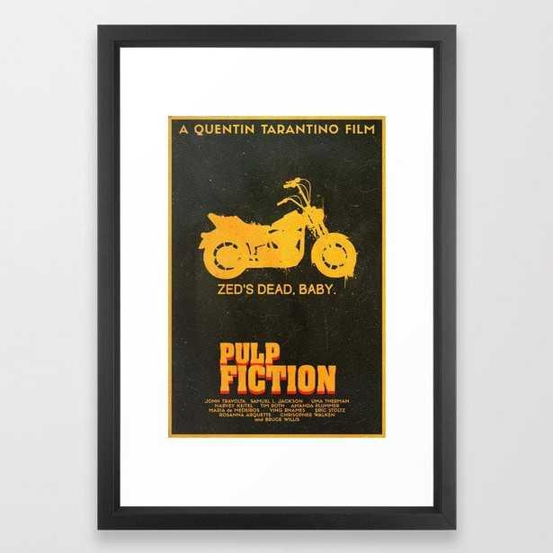 Zed's Dead Baby - Pulp Fiction Poster Framed Art Print - Society6