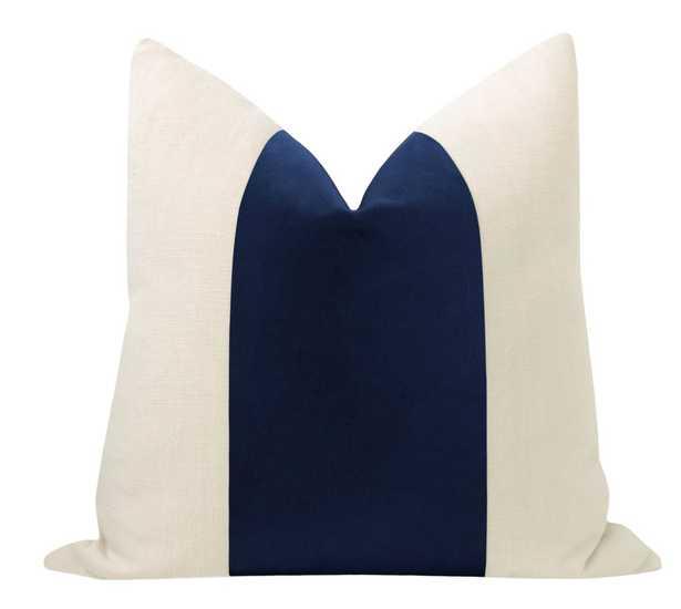 """PANEL :: Studio Velvet // Sapphire - 18"""" X 18"""" - Little Design Company"""