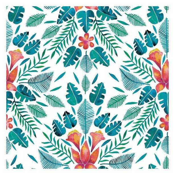 Cat Coquillette Tropical Peel and Stick Wallpaper - York Wallcoverings