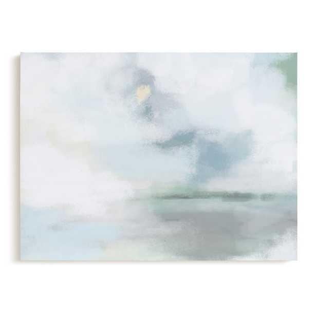 """Monday Blues Art Print -  40"""" X 30"""", Canvas - Minted"""