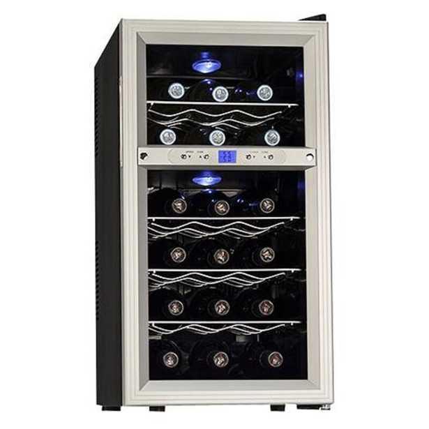 18 Bottle Dual Zone Freestanding Wine Refrigerator - Wayfair