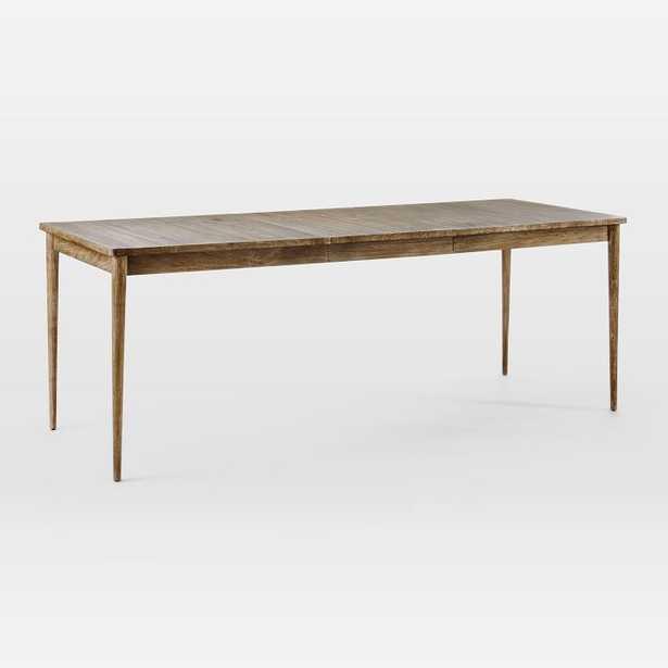 """Modern Farmhouse Expandable Dining Table, Carob,62""""-82"""" - West Elm"""