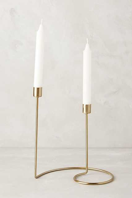 Cursive Candlestick - Small - Anthropologie