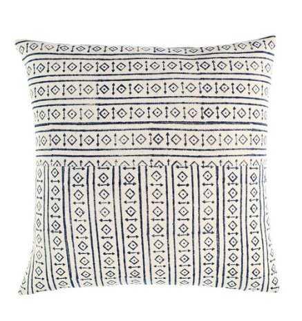 Idetta Pillow, White - Lulu and Georgia