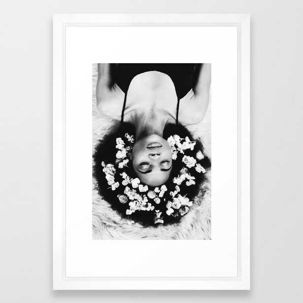 FIGURE // 17 Framed Art Print - Society6