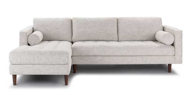 Sven Left Arm Sectional, Birch Ivory - Article