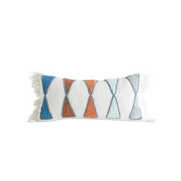 Hodson Cotton Lumbar Pillow - AllModern