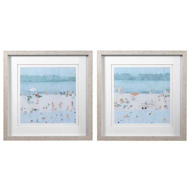 Sandbar Framed Prints, Set of 2 - Cove Goods
