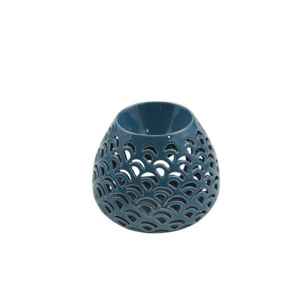 Modern Decorative Double Wave Bulb Oil Burner Ceramic Votive Holder - Wayfair