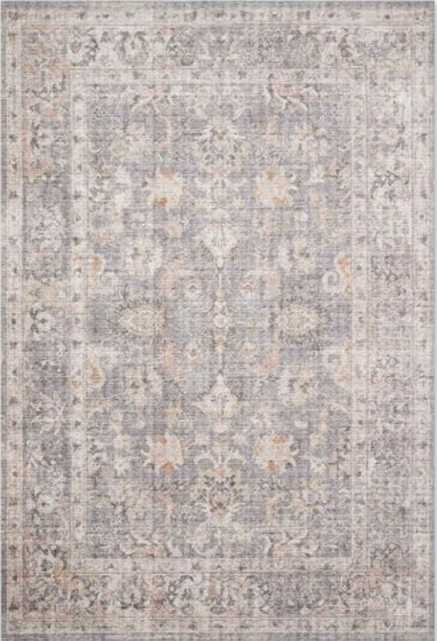 Skye Collection SKY-01 Grey / Apricot - Loma Threads