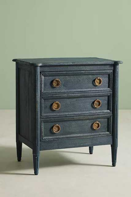 Washed Wood Nightstand - Anthropologie
