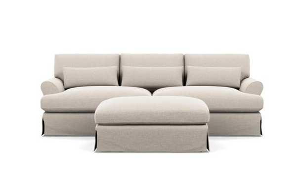 MAXWELL SLIPCOVERED Slipcovered Sofa 90 + ottoman 46 - Interior Define