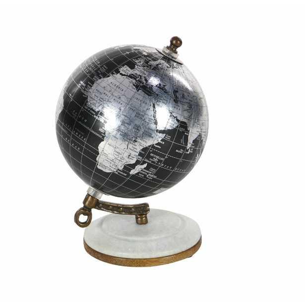 Marble and Resin Globe - Wayfair