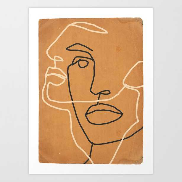 Abstract Face 6 Art Print - Society6