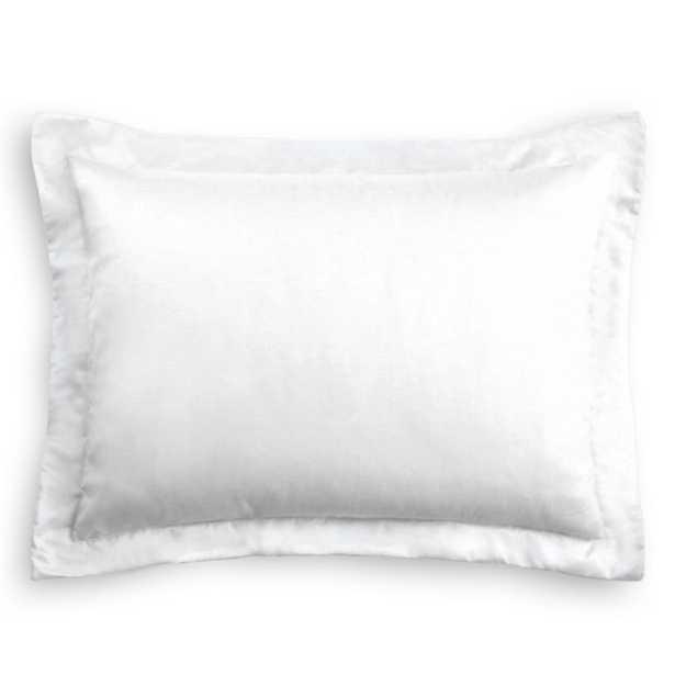 Pillow Sham  Classic Linen - Optic White-King - Loom Decor