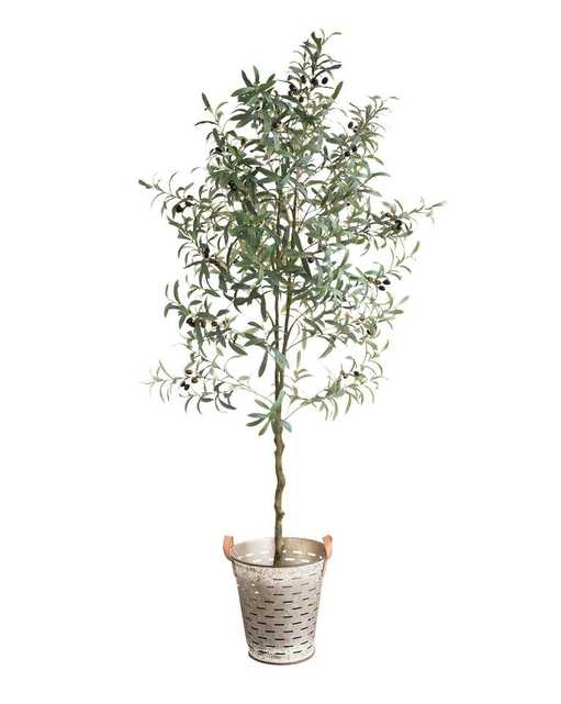FAUX POTTED OLIVE TOPIARY - McGee & Co.