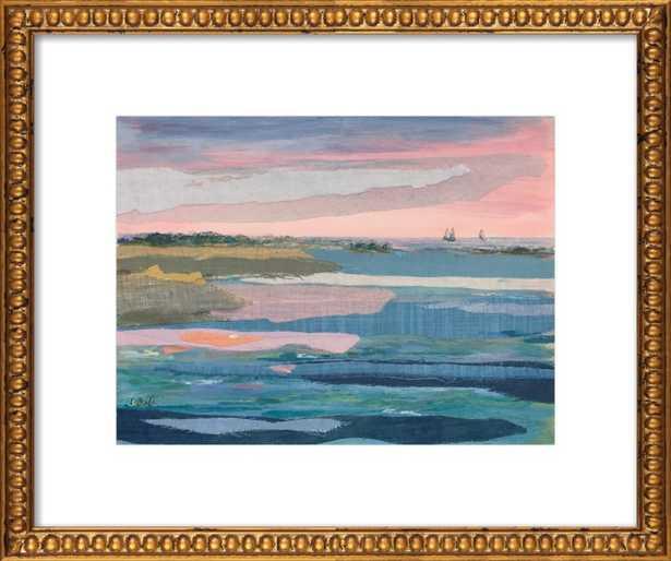 Sunset Stripes 1 - Artfully Walls
